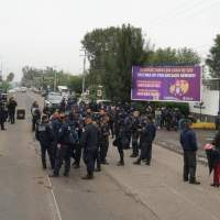 Policía Michoacán unidos venceremos
