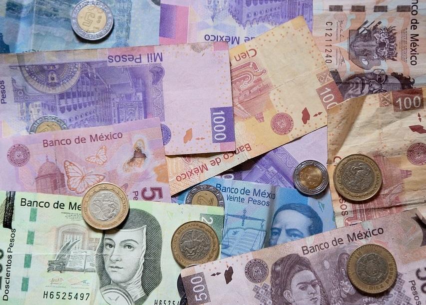 Dinero pesos mexicanos