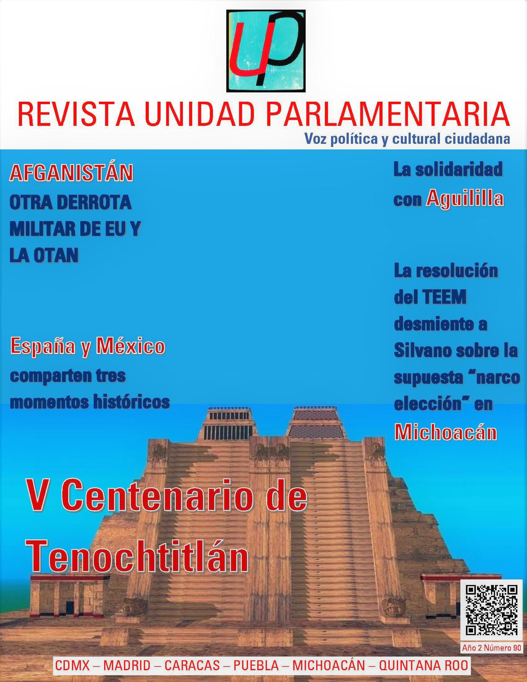 Revista Unidad Parlamentaria 90