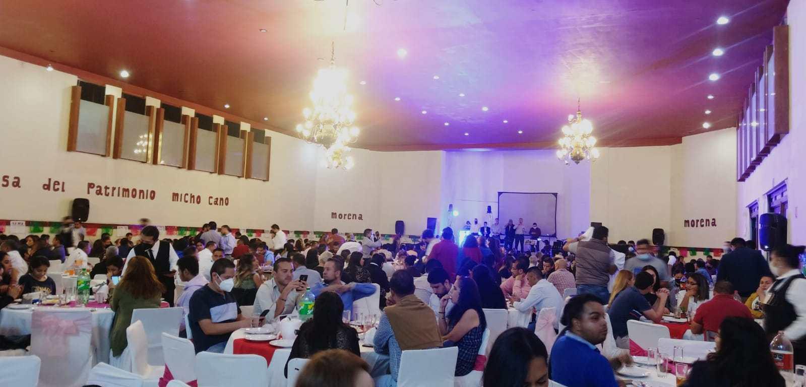 Cena Moreliana por la defensa del patrimonio Michoacano