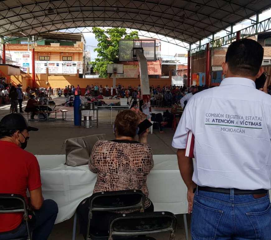 Desplazados de Tepalcatepec