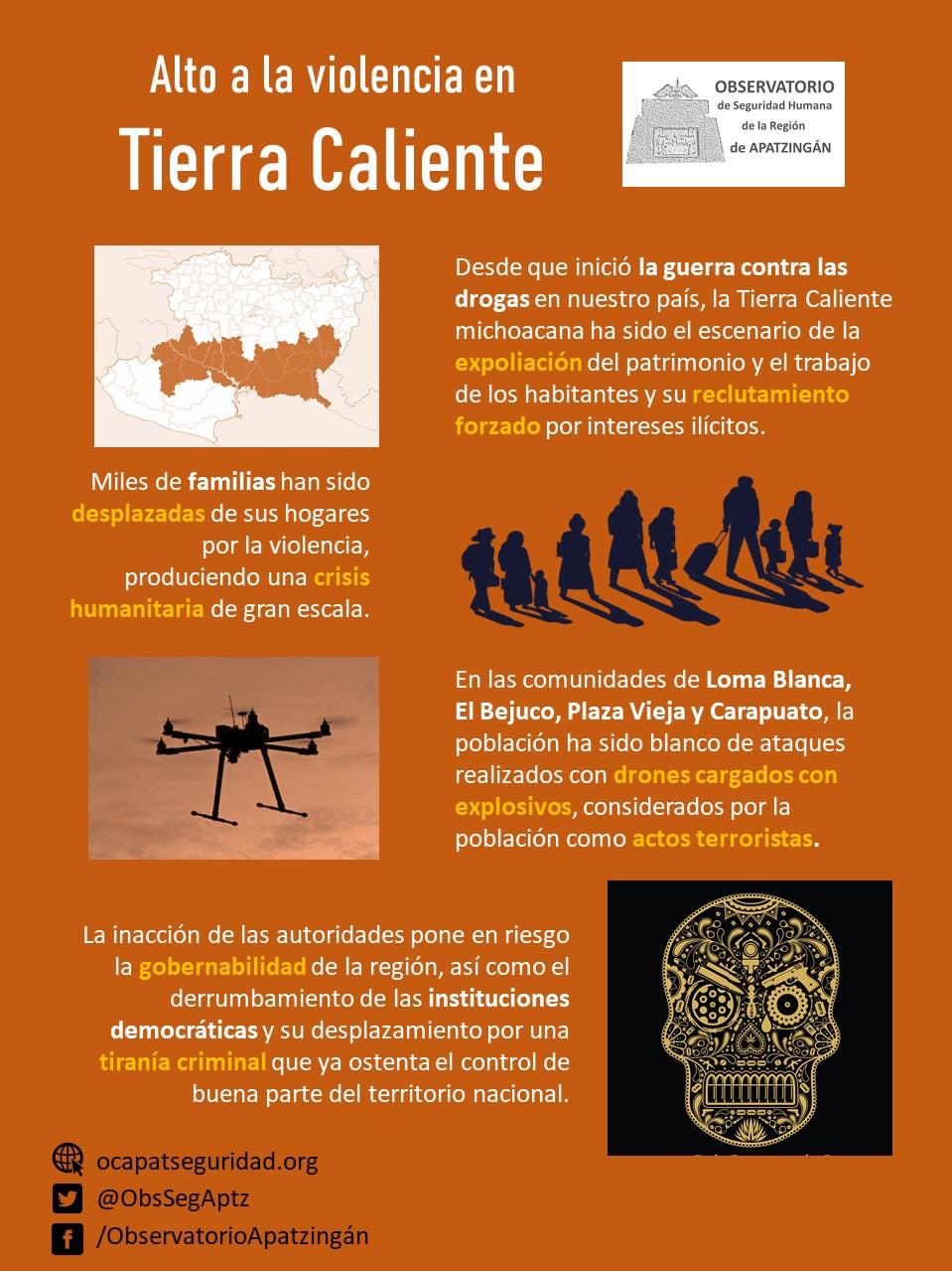Violencia en Tierra Caliente Observatorio de Apatzingán