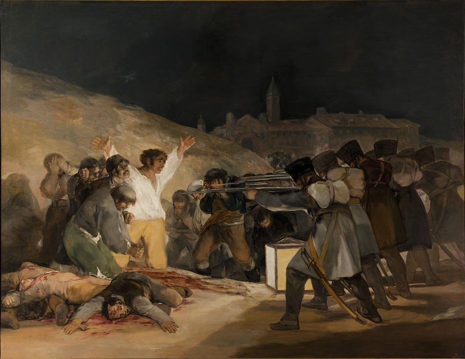 Ejecución de los Defensores de Madrid Francisco de Goya