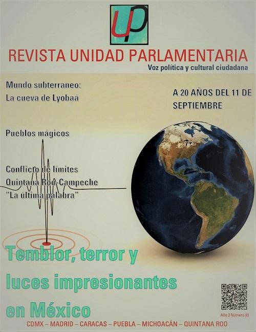 Temblor en México 7 de septiembre 2021
