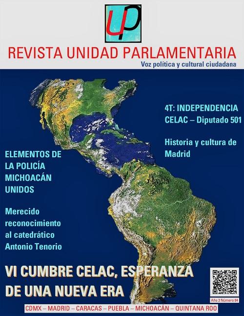 Revista Unidad Parlamentaria 94 CELAC