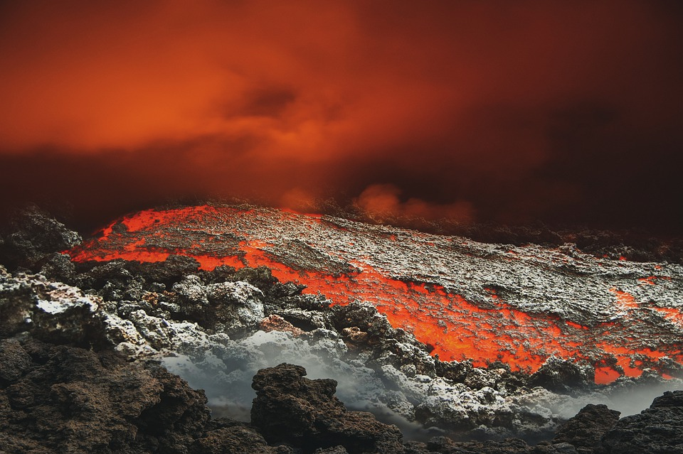 Volcán Lava