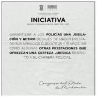 Justicia para la policía de Michoacán
