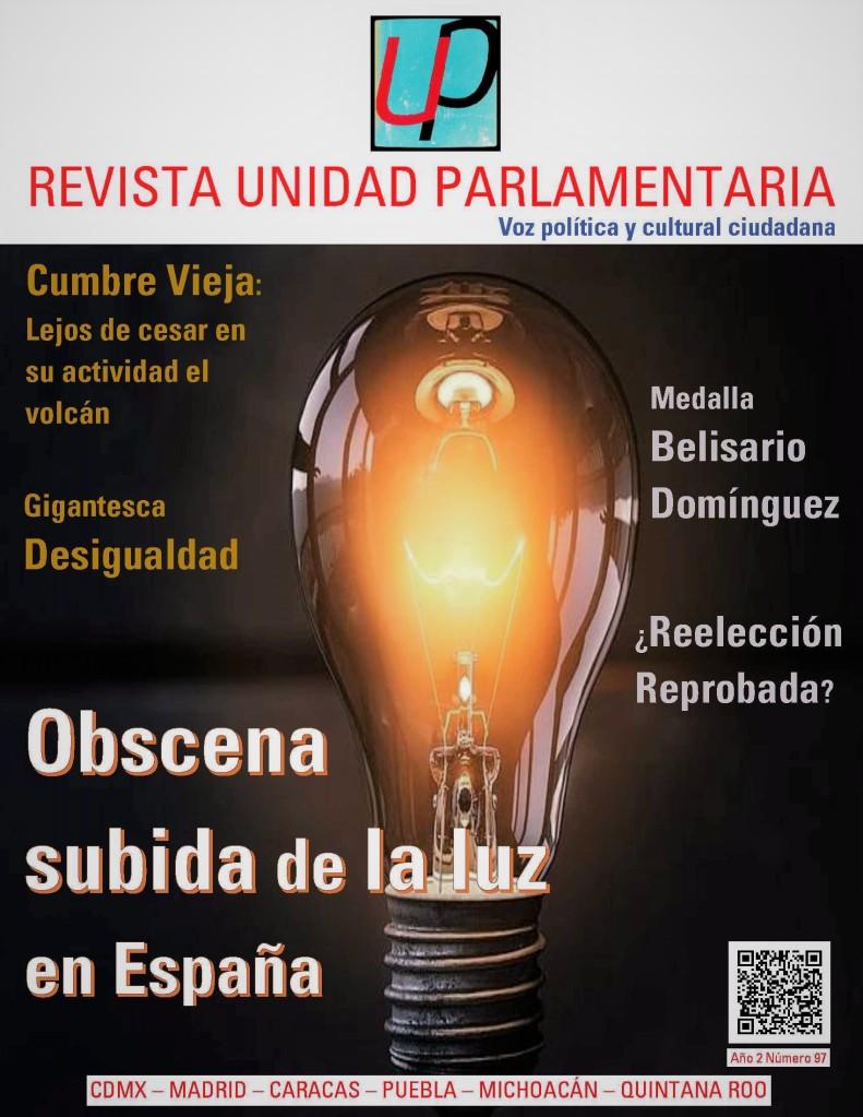 Portada Revista Unidad Parlamentaria 97