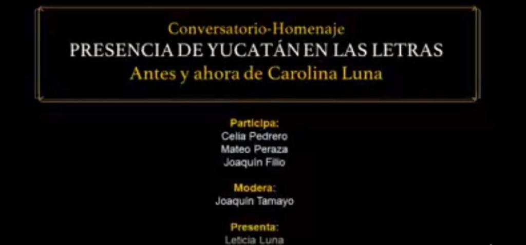 Presencia de Yucatán en las Letras